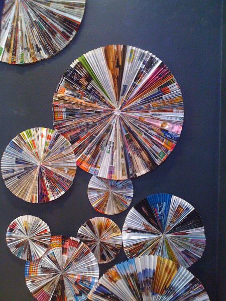 Lavoretti come riciclare la carta for Crafts using magazine pages