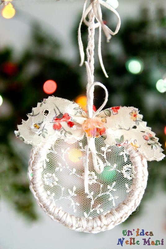 Le decorazioni di natale fai da te - Decorazioni natalizie albero fai da te ...