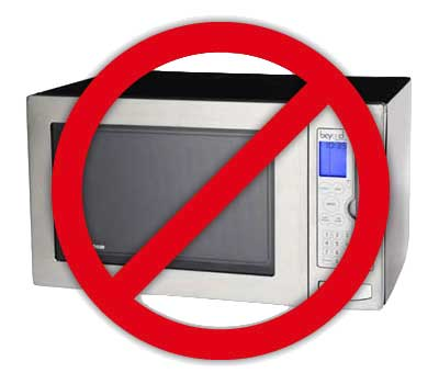 not microwave