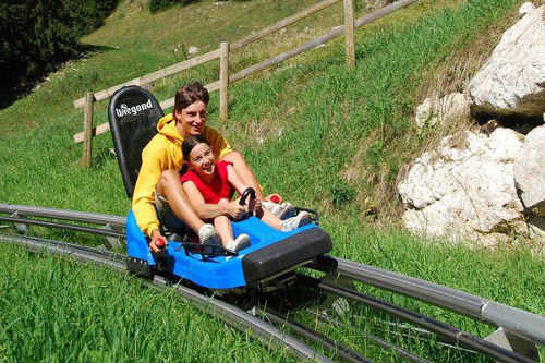 val di fiemme alpine coaster estate