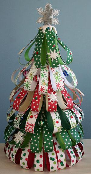 Lavoretti Per Albero Di Natale.15 Alberi Di Natale Lavoretti
