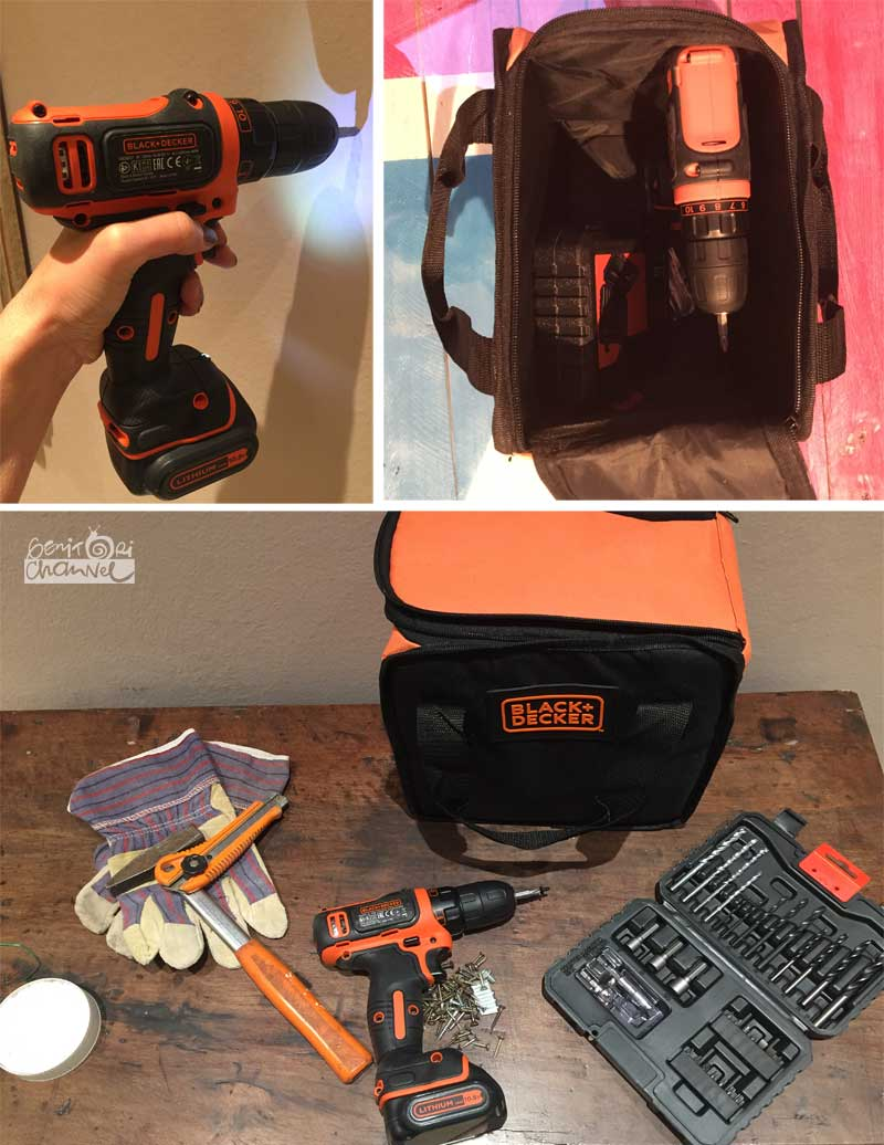 black decker trapano avvitatore