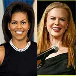 michelle obama, nicole kidman