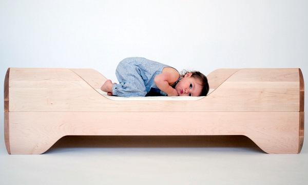 Letto Per Bambini Montessori : Lettino montessori in legno di cirmolo certificato bobidì