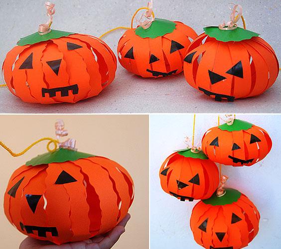 Zucca Halloween Cartapesta.10 Zucche Di Halloween Fai Da Te