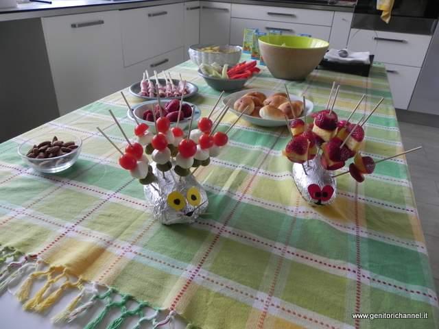 Decorazioni Buffet Compleanno Bambini : Buffet sano e goloso per le feste di compleanno