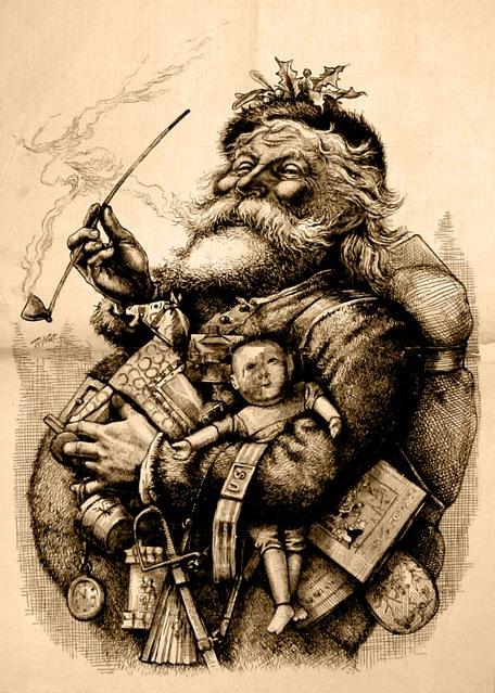 Babbo Natale di thomas Nast