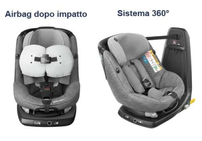 Seggiolino con Air Bag integrato - AxissFix BébéConfort
