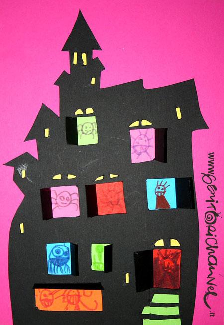 Castello dei mostri per halloween un tutorial passo passo for Piccoli piani casa castello