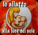 Appoggiamo l'allattamento alla luce del sole