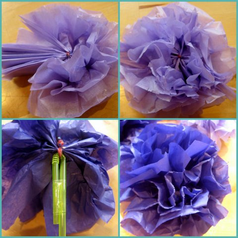 10 bouquet di fiori fatti dai bambini per la festa della mamma for Fiori di cartoncino